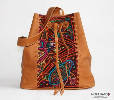 Leather Backpack City