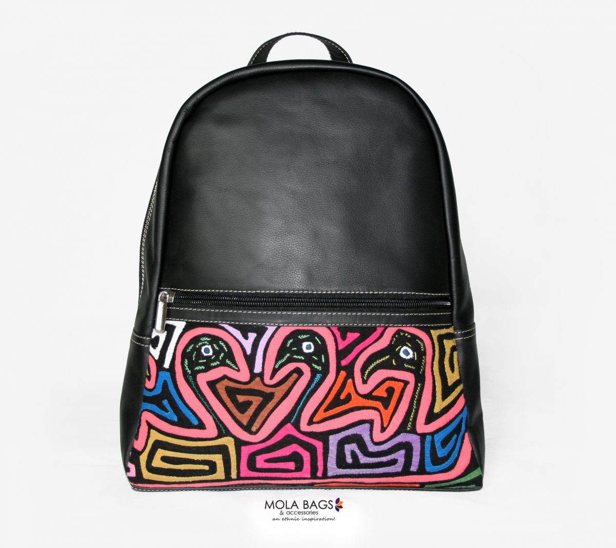 77b6eaa9a25d Small Leather City Backpack - Unique piece handmade in Colombia!